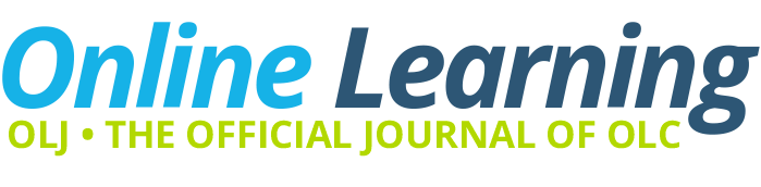 Online Learning - formerly The Journal of Asynchronous Learning Networks
